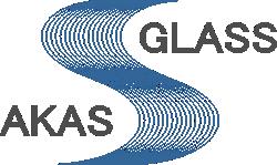 Логотип АКАС-Гласс, цветной