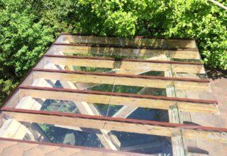 Стеклянная крыша террасы, АКАС-Гласс