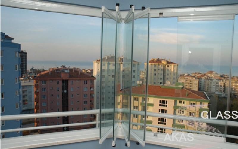 Остекление балкона без рам, Москва
