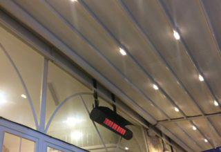 Пергольная автоматическая крыша «Кабриолет»