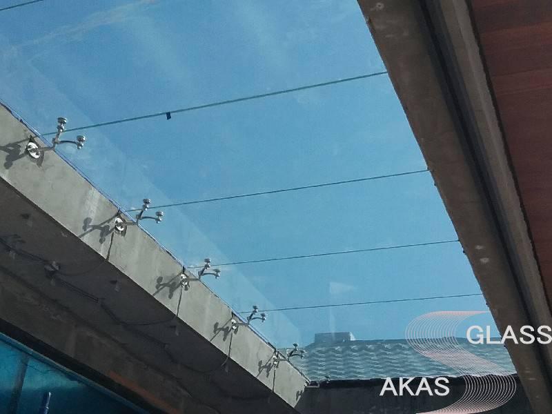 Спайдерная система остекления фасадов, Москва
