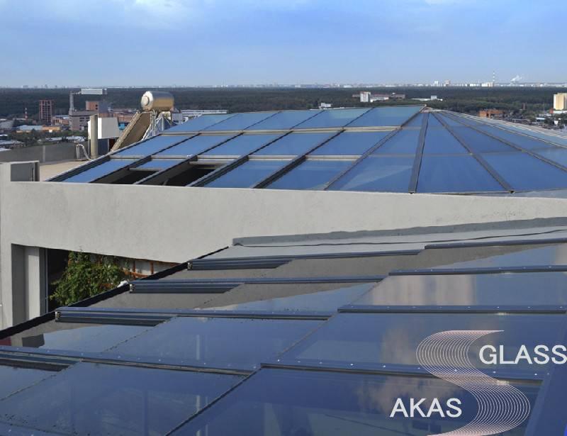 Остекление крыши в Москве
