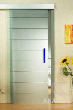 Раздвижные стеклянные двери по индивидуальному заказу