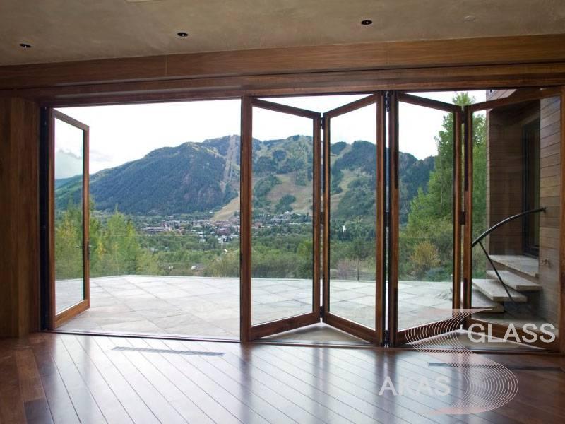 Остекление веранды алюминиевыми конструкциями