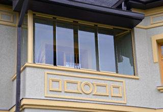 Безрамное остекление балкона системой «Книжка»