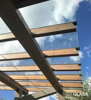 Стеклянная крыша фото