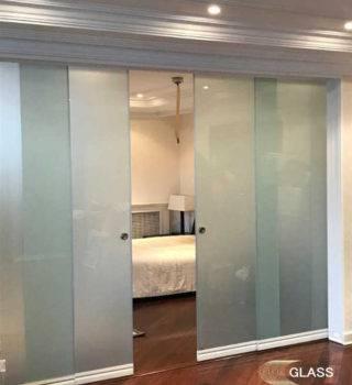 Стеклянные раздвижные двери типа «Слайд»